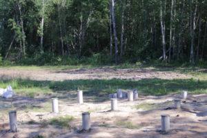 Фундамент на буронабивных сваях 6х6