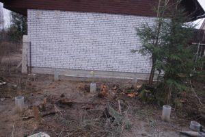 Буронабивной фундамент в п. Касимово