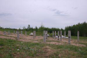 буронабивные сваи в п. Орехово