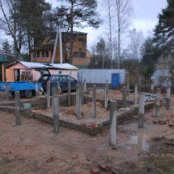 Буронабивной фундамент в Токсово