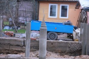 фундамент на буронабивных сваях в Токсово