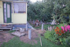 фундамент для пристройки к дому на буронабивных сваях