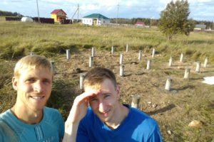 Готовый фундамент в Волосовском районе